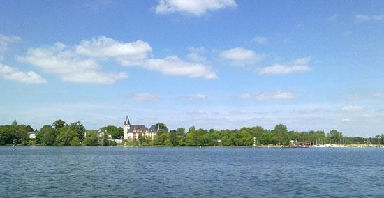 Schloss Klink von der Müritz